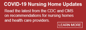 Coronavirus Nursing Home Website Button