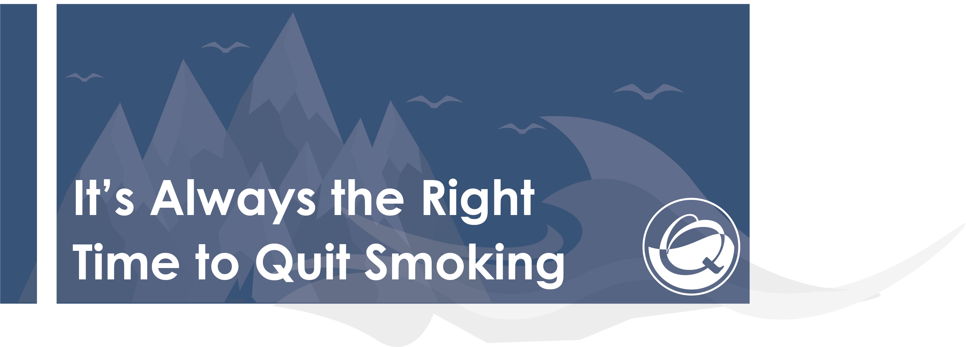 Quit smoking blog header