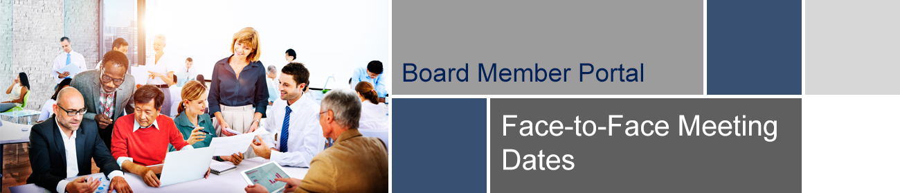 Face-to-Face Meeting Dates